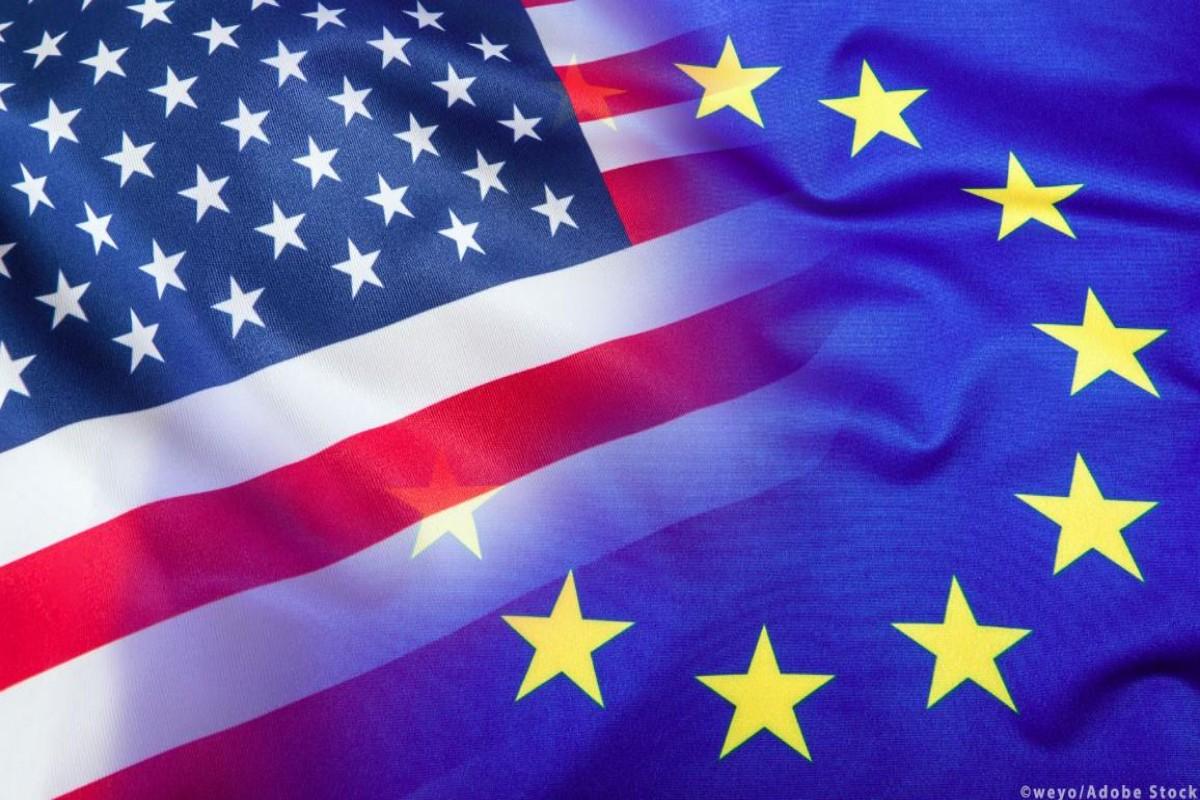 Flag Usa Eu 1200x800