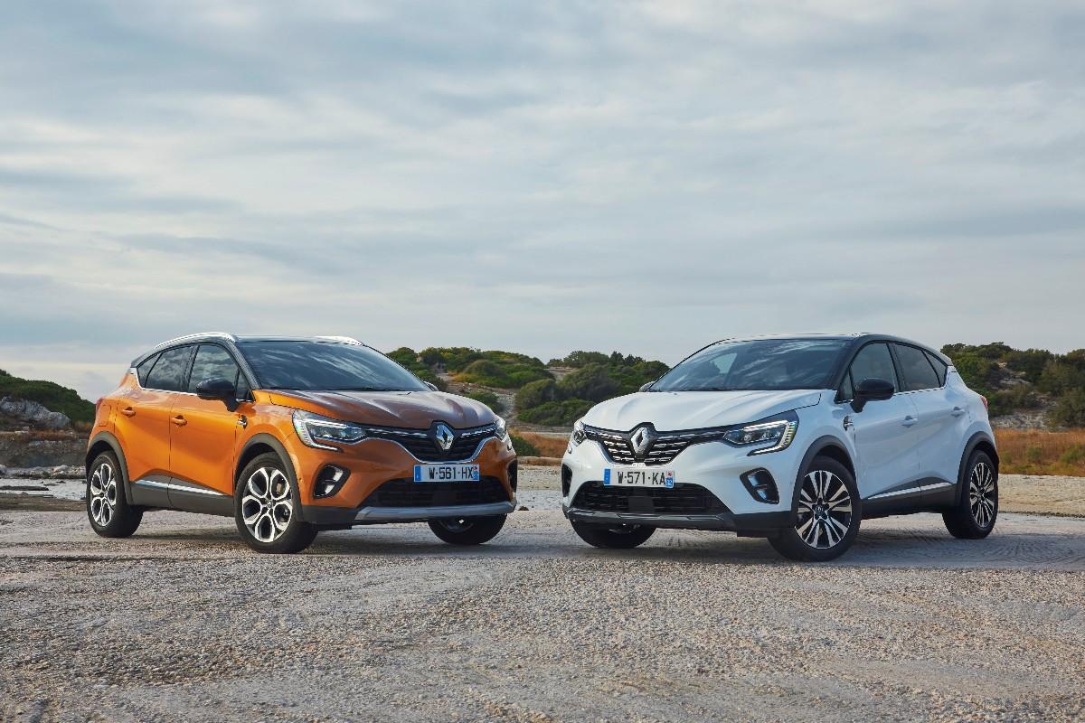 New Renault CAPTUR Tests Drive In Greece 1200x800