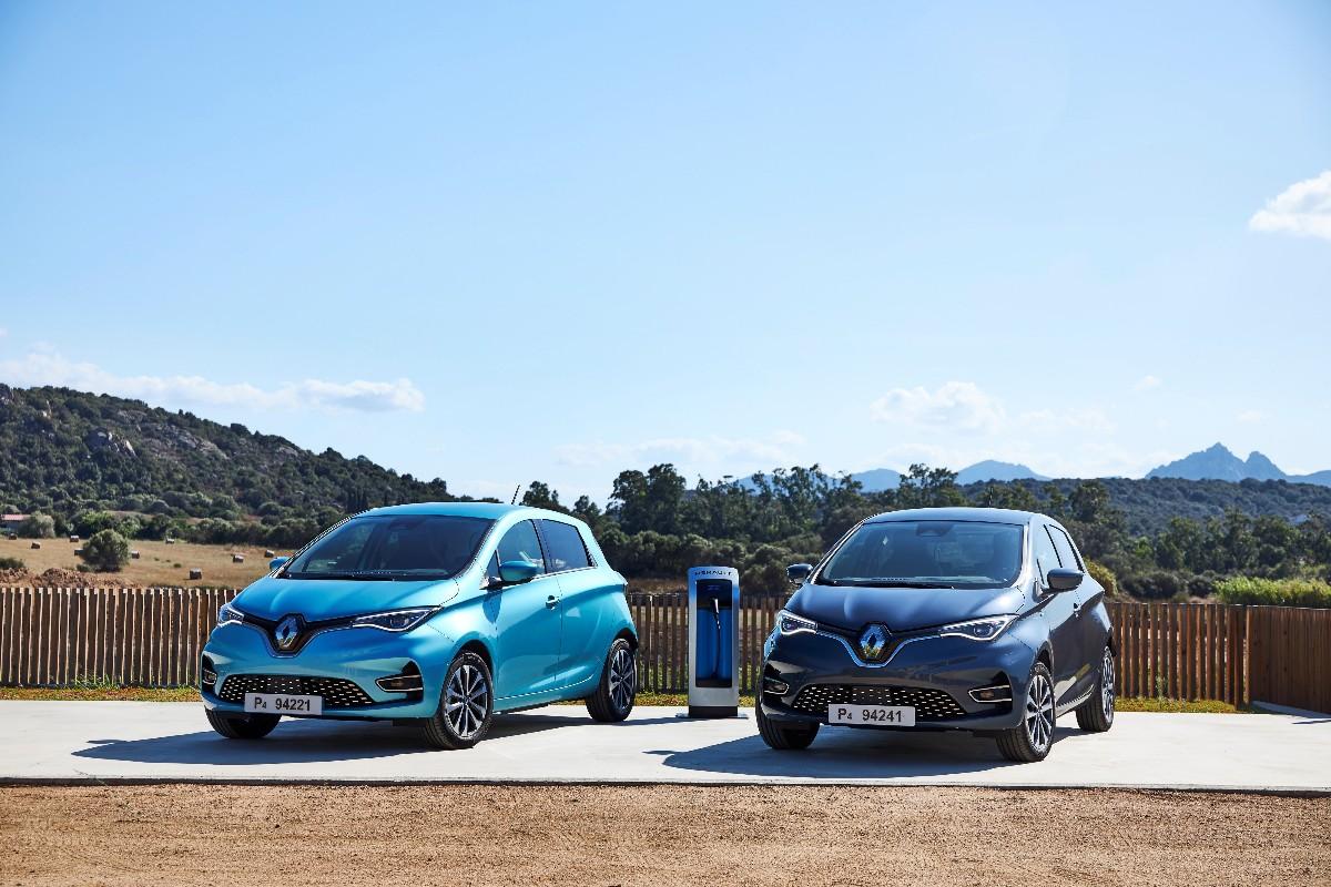 New Renault ZOE Tests Drive In Sardinia 6